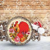 """Дизайн и реклама ручной работы. Ярмарка Мастеров - ручная работа Фотофон  """"Подарки 02"""" (стена+пол). Handmade."""