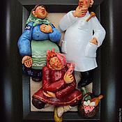 """Картины и панно ручной работы. Ярмарка Мастеров - ручная работа """"У доктора"""". Handmade."""