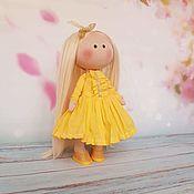 Тыквоголовка ручной работы. Ярмарка Мастеров - ручная работа Куколка: Куколка Солнышко. Handmade.