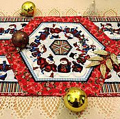 Для дома и интерьера ручной работы. Ярмарка Мастеров - ручная работа Салфетка новогодняя. Handmade.