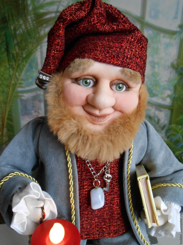 DWARF GNOMIC textile doll, Dolls, Zelenograd,  Фото №1