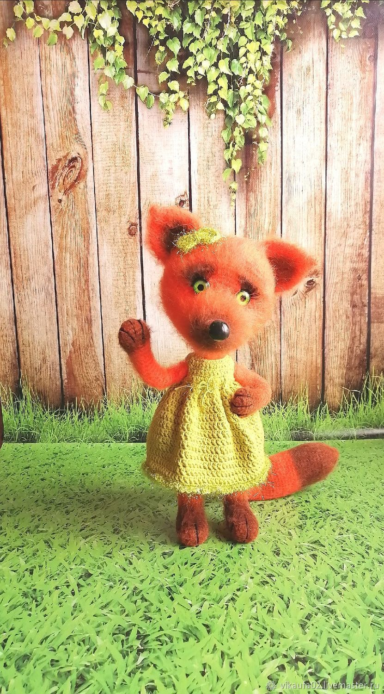 Alice Fox, Stuffed Toys, Ufa,  Фото №1