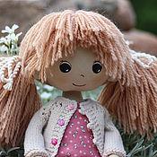 Куклы и игрушки ручной работы. Ярмарка Мастеров - ручная работа Полина текстильная кукла. Handmade.