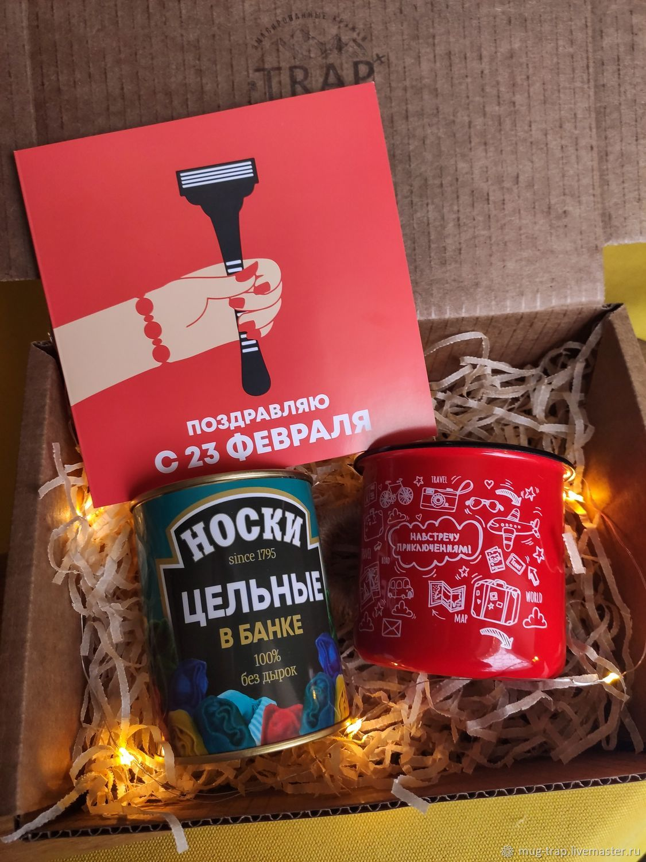 """Подарочный набор """"23 февраля"""", Подарочные боксы, Москва,  Фото №1"""