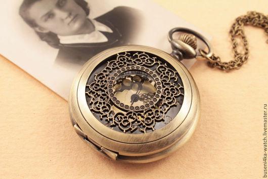 Для украшений ручной работы. Ярмарка Мастеров - ручная работа. Купить Часы-подвеска №19 Кружевные. Handmade. Часы в подарок