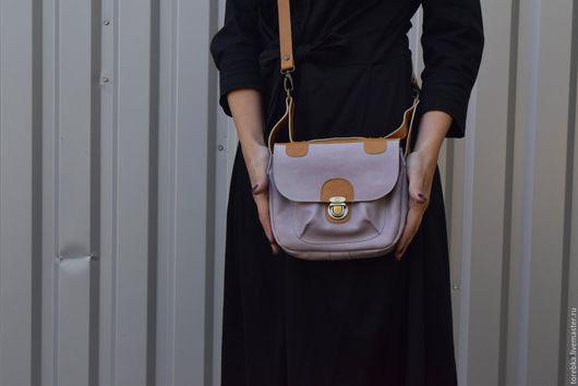 Женские сумки ручной работы. Ярмарка Мастеров - ручная работа. Купить Сумочка через плечо. Handmade. Комбинированный, желтый