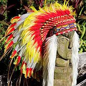 Аксессуары handmade. Livemaster - original item Roach native American
