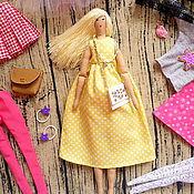 Куклы и игрушки ручной работы. Ярмарка Мастеров - ручная работа Кукла с гардеробом,игровая кукла,кукла с одеждой.. Handmade.