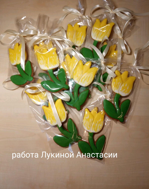 Пряники тюльпаны!, Пряники, Москва,  Фото №1