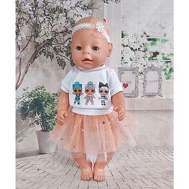 Куклы и игрушки ручной работы. Ярмарка Мастеров - ручная работа Костюм для Беби Бон.. Handmade.