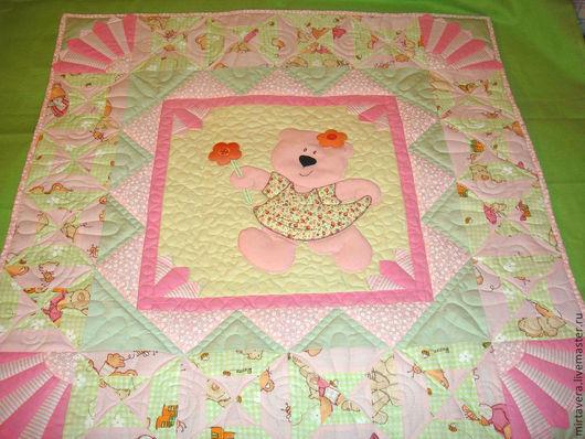 """Текстиль, ковры ручной работы. Ярмарка Мастеров - ручная работа. Купить """"Милашка"""". Handmade. Бледно-розовый, детская комната, синтепон"""