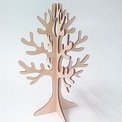 """Дизайн и реклама ручной работы. Ярмарка Мастеров - ручная работа IVL-501-4 (30 х 20) Подставка для украшений """" Дерево"""". Handmade."""