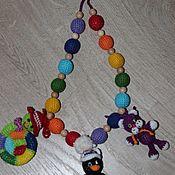 """Одежда ручной работы. Ярмарка Мастеров - ручная работа Слингобусы """"Пингвин"""" + две съемные игрушки. Handmade."""