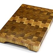 Для дома и интерьера handmade. Livemaster - original item End cutting Board №111. Handmade.