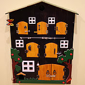 """Куклы и игрушки ручной работы. Ярмарка Мастеров - ручная работа развивающая игрушка """"Ферма"""". Handmade."""