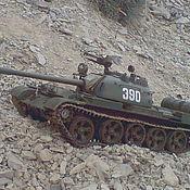 Техника, роботы, транспорт ручной работы. Ярмарка Мастеров - ручная работа танк Т-55А. Handmade.