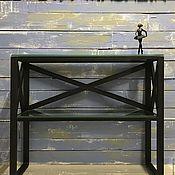Для дома и интерьера handmade. Livemaster - original item Console BLACK CROSS. Handmade.