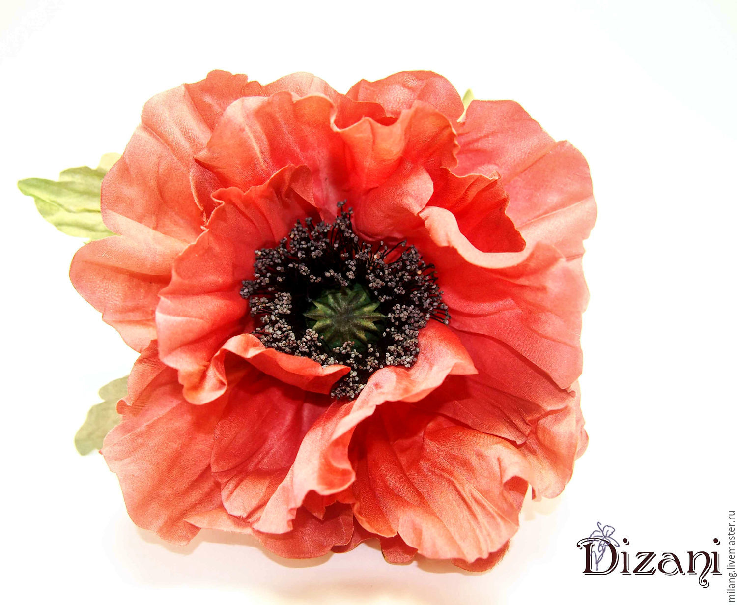 Poppy Silk Silk Flowers Fabric Flowers Shop Online On Livemaster