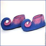 """Обувь ручной работы. Ярмарка Мастеров - ручная работа Чуни """"Фантазия"""". Handmade."""