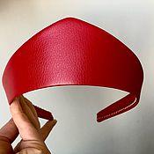 Русский стиль handmade. Livemaster - original item Kokoshnik RED CURRANT. Handmade.