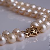 Украшения handmade. Livemaster - original item Pearl. Double necklace of white pearls. Handmade.