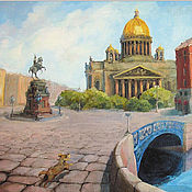 Открытки handmade. Livemaster - original item St. Isaac`s Cathedral Petersburg Postcard. Handmade.