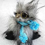 Куклы и игрушки ручной работы. Ярмарка Мастеров - ручная работа Тедди совенок 2. Handmade.
