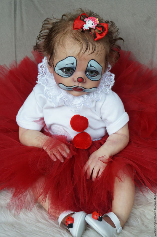 Куклы-младенцы и reborn ручной работы. Ярмарка Мастеров - ручная работа. Купить реборн Ляля, клоун, кукла.. Handmade.
