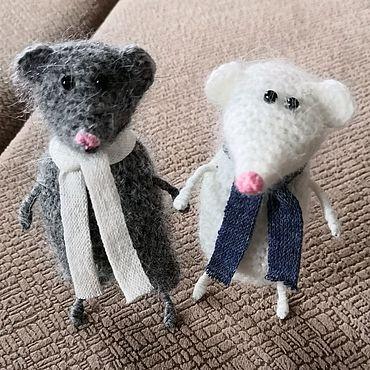 Сувениры и подарки ручной работы. Ярмарка Мастеров - ручная работа Крысята. Handmade.