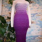 Одежда handmade. Livemaster - original item Vestido de fideos orquídea. Handmade.