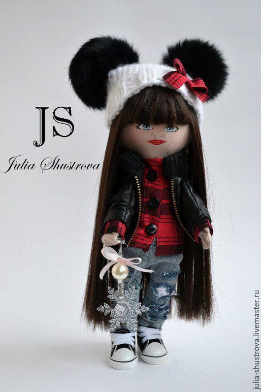 Куклы тыквоголовки ручной работы. Ярмарка Мастеров - ручная работа. Купить Роковая Брюнесточка. Handmade. Кукла ручной работы, кукла