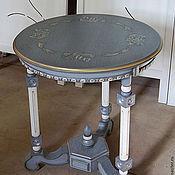 Для дома и интерьера ручной работы. Ярмарка Мастеров - ручная работа Столик прикроватный, круглый. Handmade.