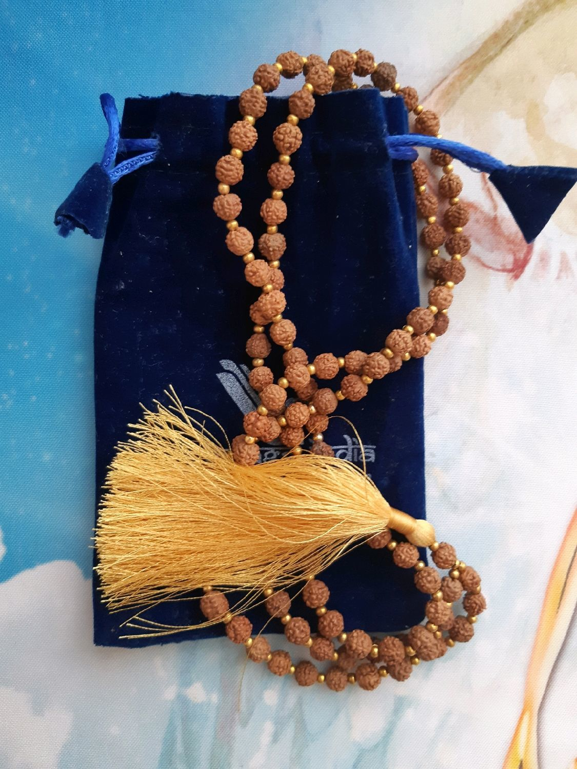 Mala with a replica of Rudraksha, Necklace, Moscow,  Фото №1