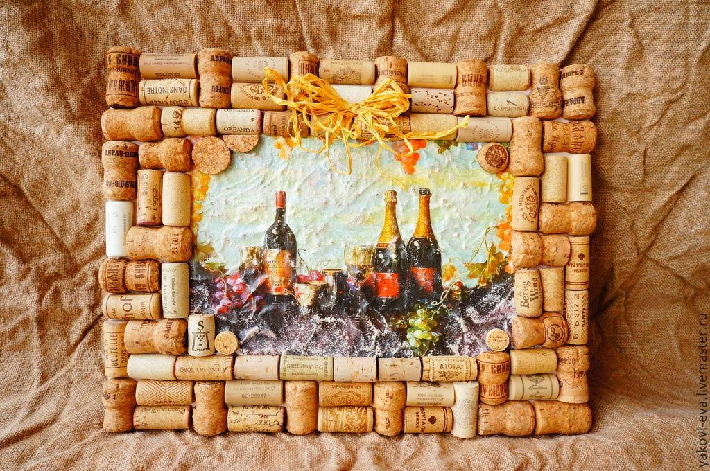 Какие поделки можно сделать из пробок из под шампанского 73