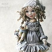 Куклы и игрушки ручной работы. Ярмарка Мастеров - ручная работа Рози.Текстильная коллекционная кукла. Бохо стиль. Handmade.