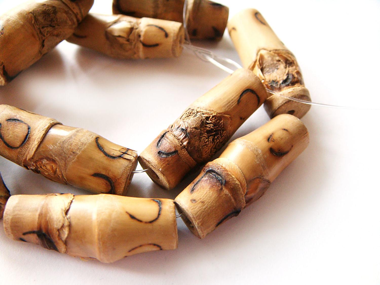 Beads Bamboo tube 9h26mm, Beads1, Bryansk,  Фото №1