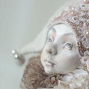 Куклы и игрушки handmade. Livemaster - original item Harlequin. coffee with cream. Handmade.