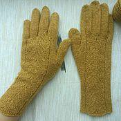 Перчатки из твида Samarkand