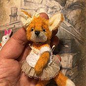 Мягкие игрушки ручной работы. Ярмарка Мастеров - ручная работа Little fox 2. Handmade.