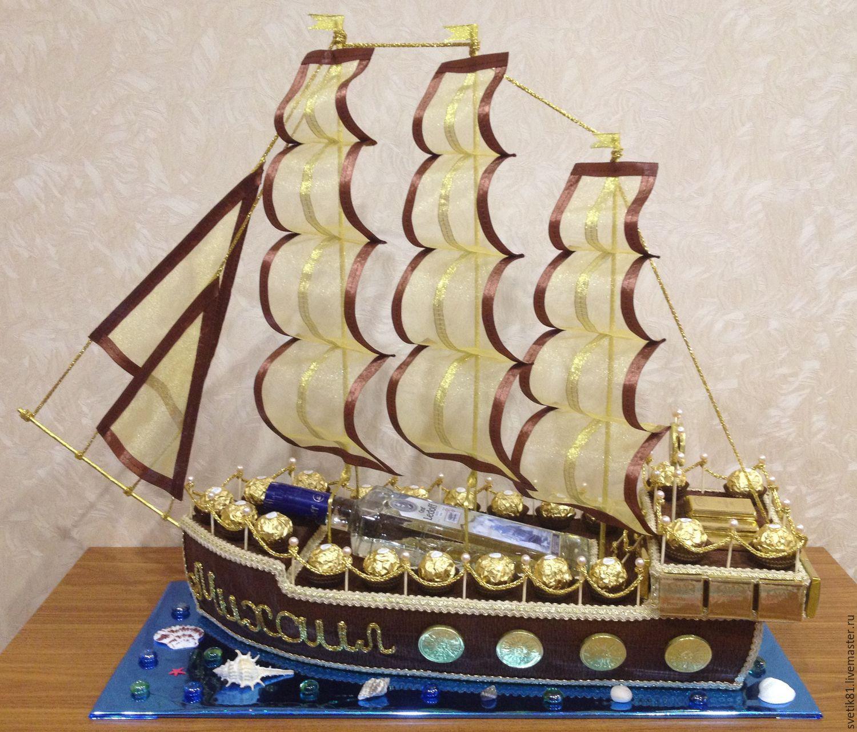 только корабль из конфет своими руками пошаговое фото ваши скромные