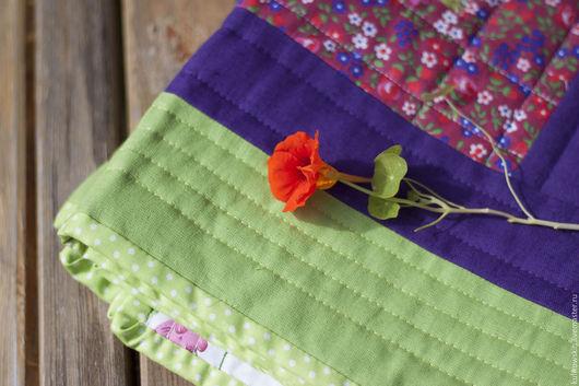 """Текстиль, ковры ручной работы. Ярмарка Мастеров - ручная работа. Купить Лоскутный коврик  """"Стежки-дорожки"""" дорожка, печворк панно лоскутное. Handmade."""