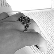 Украшения ручной работы. Ярмарка Мастеров - ручная работа Кольцо из серебра «Купол» / кольцо серебро / серебряное кольцо. Handmade.