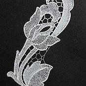 """Материалы для творчества ручной работы. Ярмарка Мастеров - ручная работа Аппликация """" Роза"""".. Handmade."""