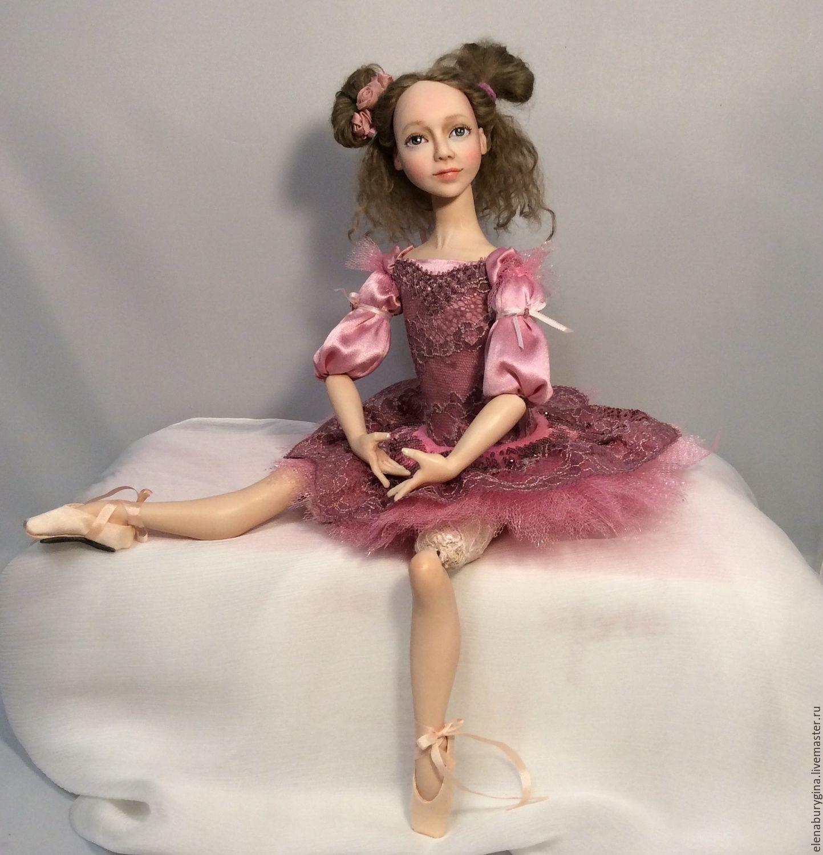Малышка - балеринка Белла. Авторская кукла, Куклы и пупсы, Омск,  Фото №1