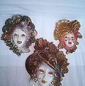 Винтаж ручной работы. Ярмарка Мастеров - ручная работа Венецианские маски  винтаж, Италия. Handmade.