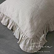 Для дома и интерьера handmade. Livemaster - original item Softened linen