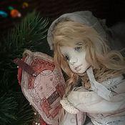 """Куклы и игрушки ручной работы. Ярмарка Мастеров - ручная работа """"С мечтой о Щелкунчике"""" кукла в смешанной технике. Handmade."""