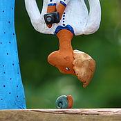 """Для дома и интерьера ручной работы. Ярмарка Мастеров - ручная работа Скульптура """"ФотоГрафиня"""". Handmade."""