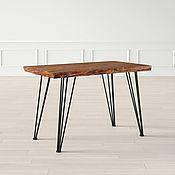 Столы ручной работы. Ярмарка Мастеров - ручная работа Стол лофт сосна на шпильке. Handmade.