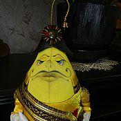 Куклы и игрушки ручной работы. Ярмарка Мастеров - ручная работа интерьерная  игрушка  Принц Лимон. Handmade.